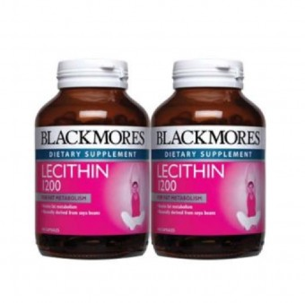 Blackmores Lecithin 1200Mg 100Sx2