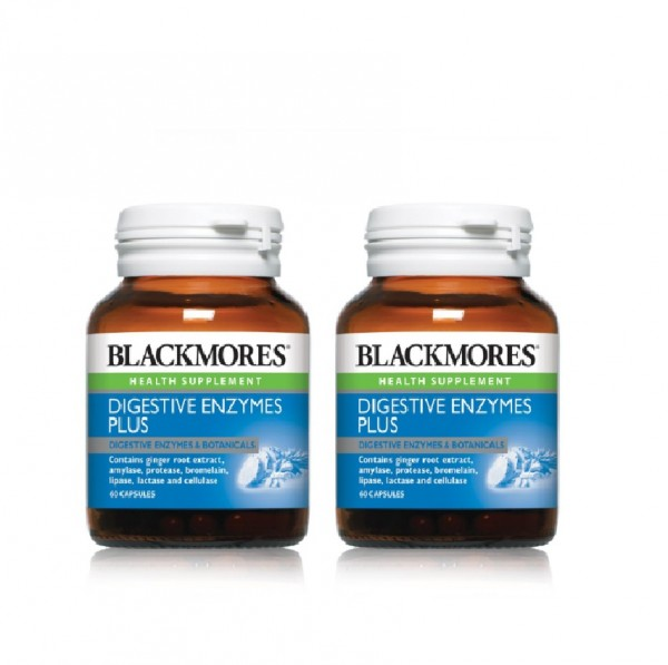Blackmores Digestive Enzymes Plus 60S X 2