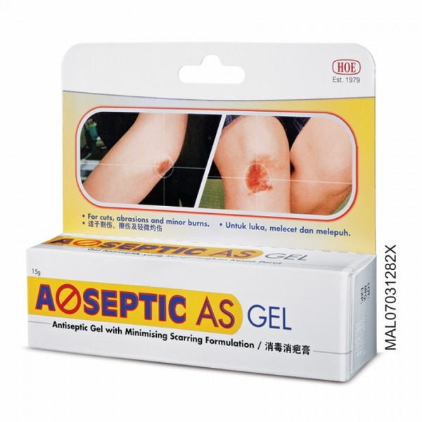 Hoe A-septic AS Gel 15G
