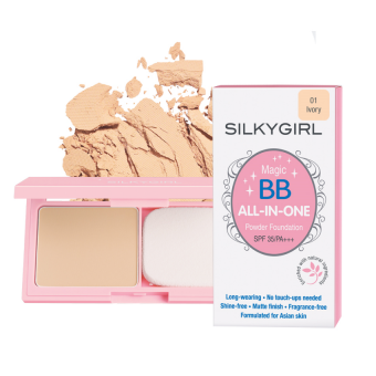SILKYGIRL MAGIC BB ALL-IN-ONE POWDER FOUNDATION