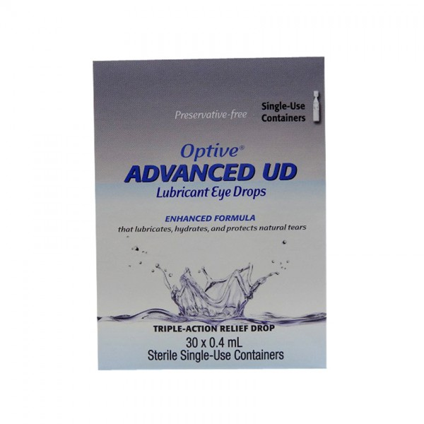 Allergan Optive Advance UD Eye Drops 0.4ML X 30