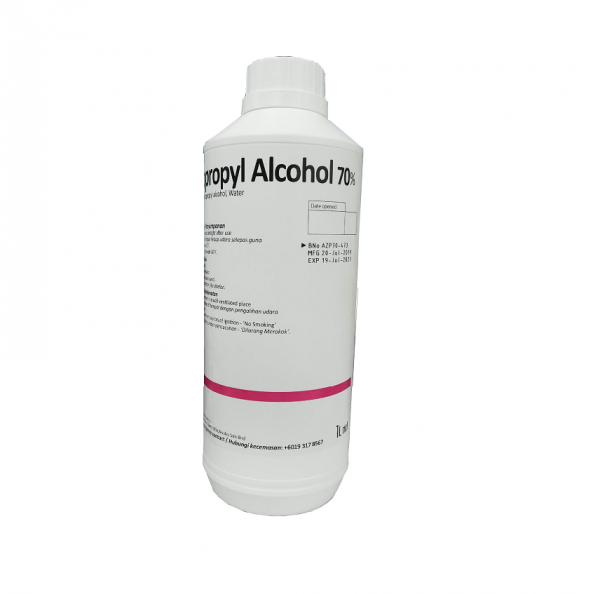 ISOPROPYL ALCOHOL (IPA) 70% 1L