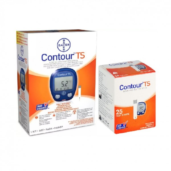 Bayer Contour TS Blood Glucose Monitoring System Set