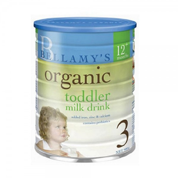 Bellamy's Organic Toddler Milk Drink Step 3 (900g)