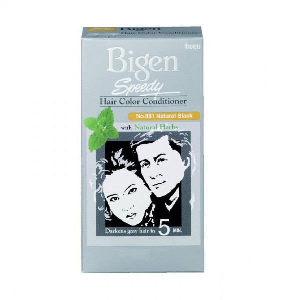 Bigen Speedy Hair Color - 881 Natural Black