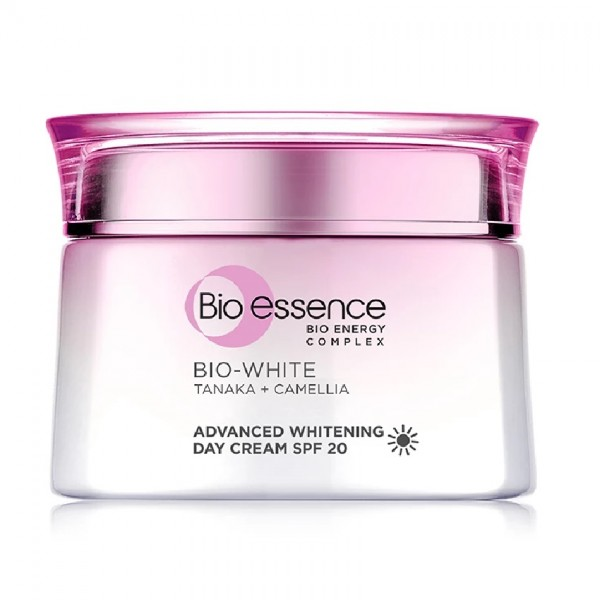 Bio-Essence Tanaka White Double Whitening Day Cream SPF20 (50g)