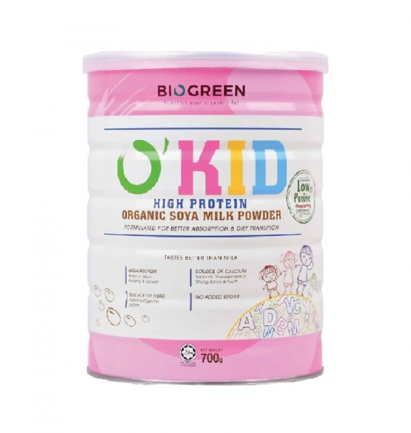 Biogreen O'Kid Soya Milk (700)