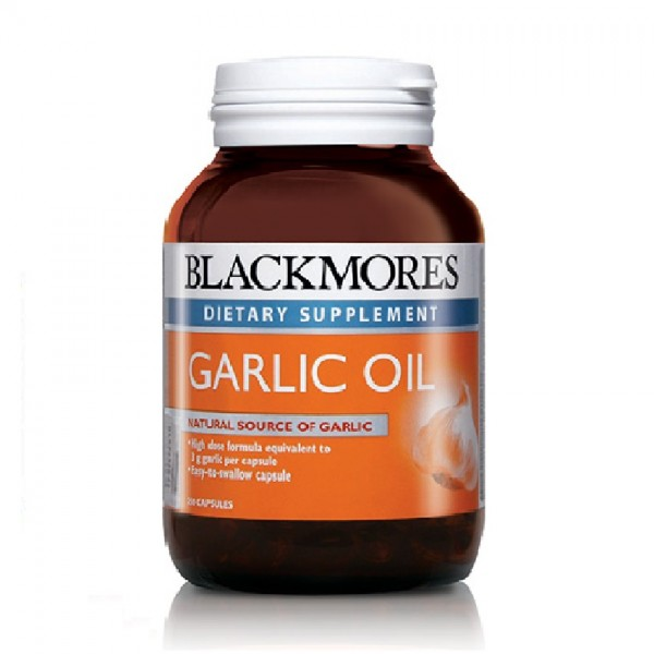 Blackmores Garlic Oil 250s