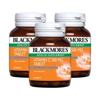 Blackmores Vitamin C (500mg x 60's x 3)