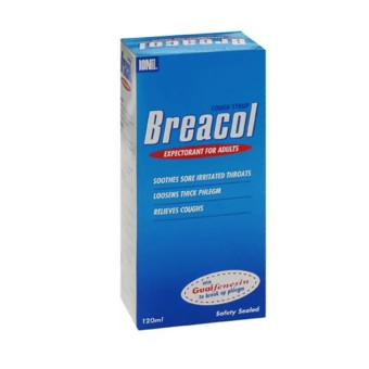 Breacol Cough Syrup for Adult (120ml)