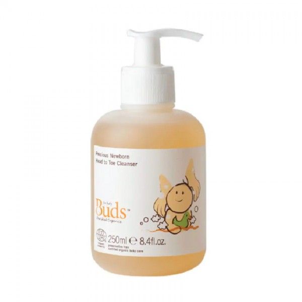 Buds Precious Newborn Head to Toe Cleanser (250ml)