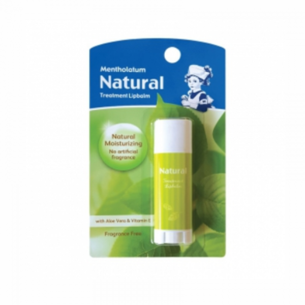 Mentholatum Natural Treatment Lipbalm 3G