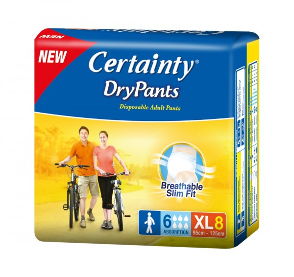 Certainty Dry Pants (XL) 8S