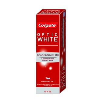 Colgate Toothpaste Optic White Sparkling Mint (100g)