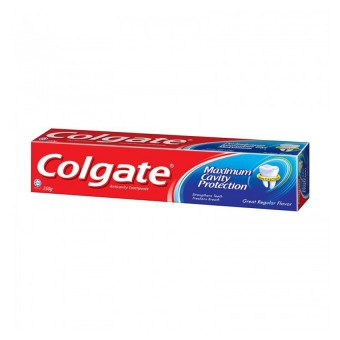 Colgate Toothpaste Maximum Cavity Protection Great Regular 250G