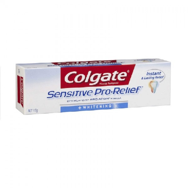 Colgate Toothpaste Sensitive Pro-Relief Whitening (110g)