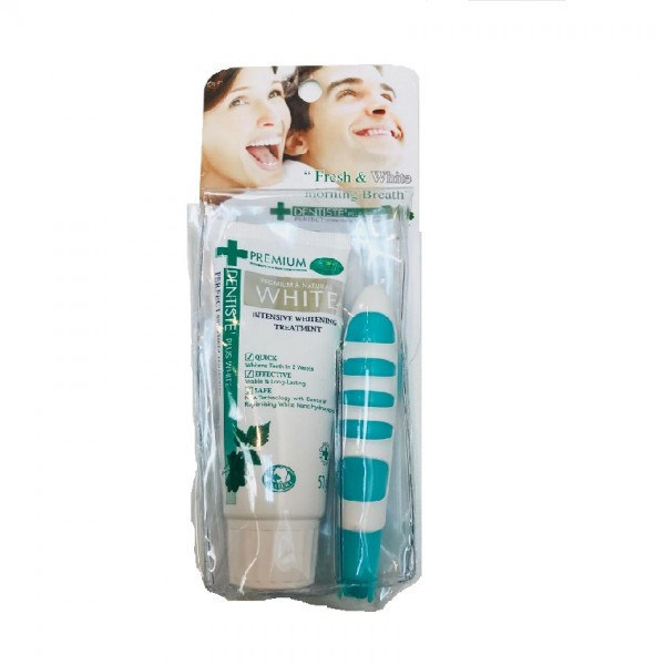 Dentiste' Plus White Travel Set