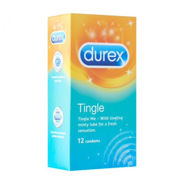 Durex Condom Tingle (12 Pcs)