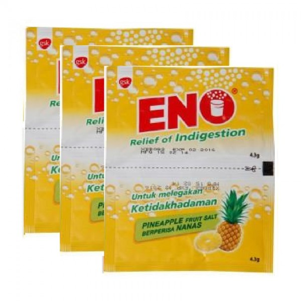 ENO Sachets - Pineapple (4.3g x 2 Packs x 3)
