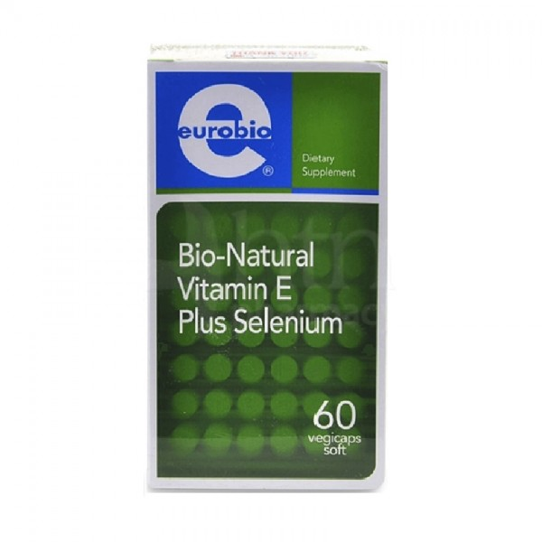 Eurobio Bio-Natural Vitamin E Plus Selenium 60s