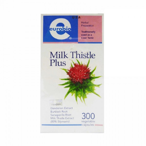 Eurobio Milk Thistle Plus (300's)