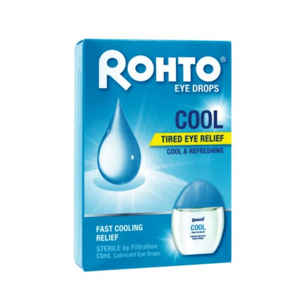 Rohto Eye Drops Tired Eye Relief (Cool) 13ML