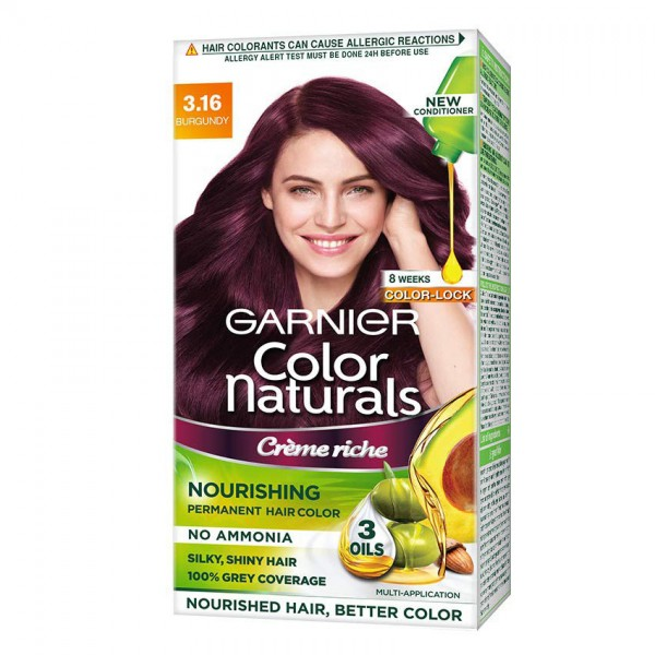 Garnier Color Naturals Cream 3.16 Burgundy