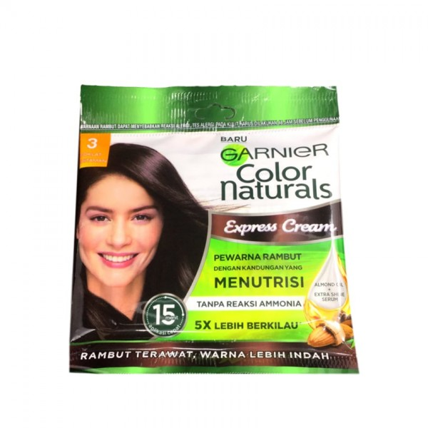 Garnier Color Natural Express Cream 3 Darkest Brown