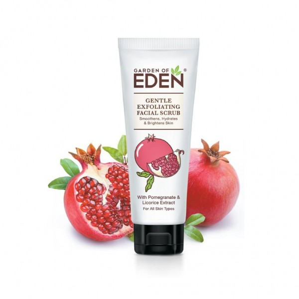 Garden of Eden Gentle Exfoliating Facial Scrub 75ML