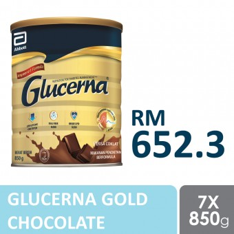Glucerna Gold Chocolate 850 x 7