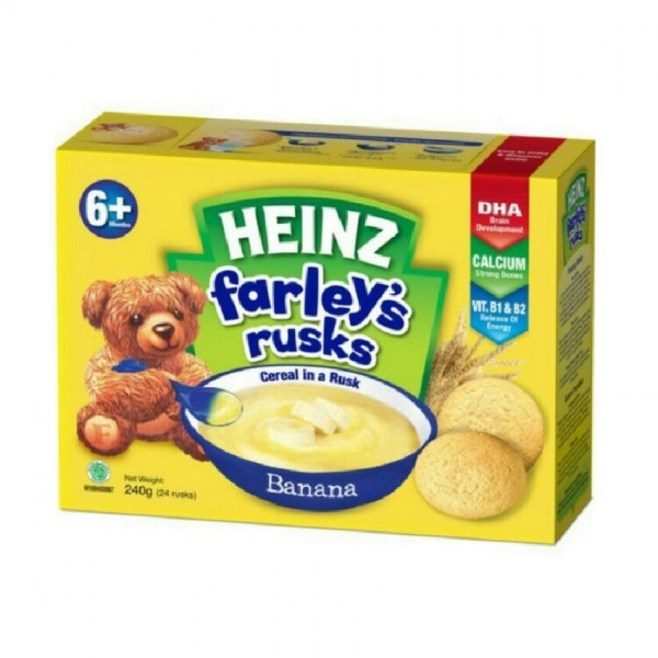 HEINZ FARLEYS RUSKS 240G BANANA