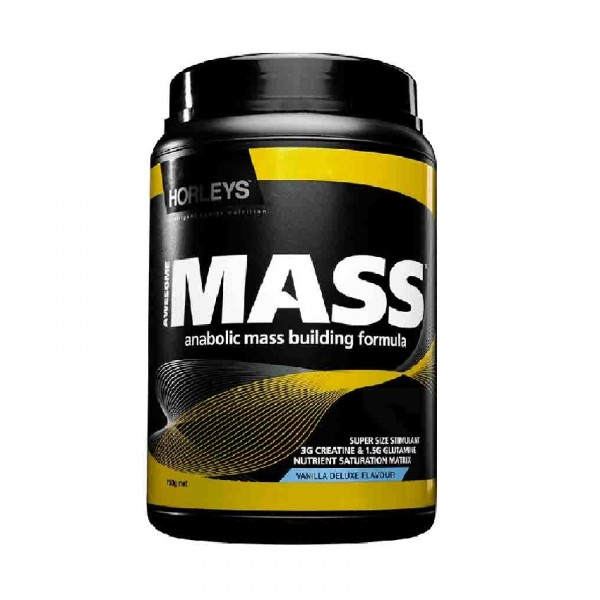 Horleys Awesome Mass Protein - Vanilla Deluxe (750g)