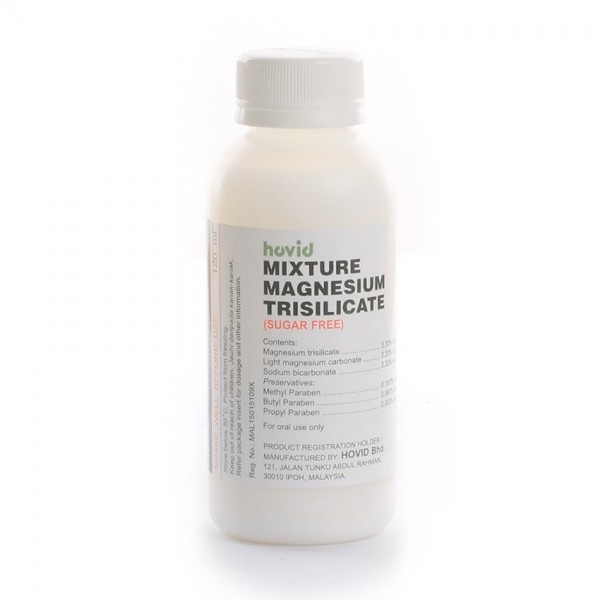 Hovid Mixture Magnesium Trisilicate 120Ml