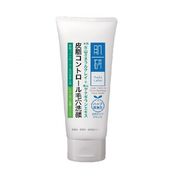 Hada Labo Deep Clean & Pore Refining Face Wash 100g