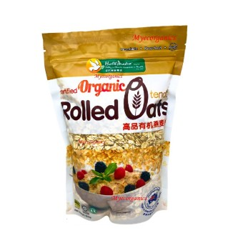 Health Paradise Organic Tender Rolled Oats (500G)