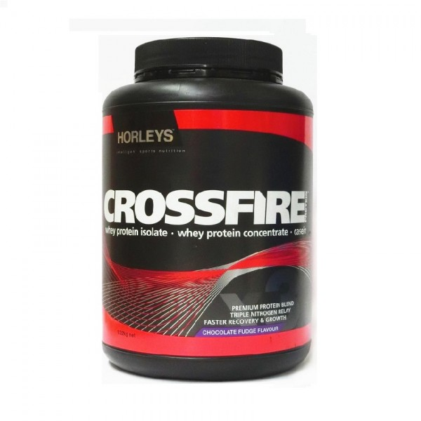 Horleys Crossfire Protein - Chocolate Fudge 1.32kg
