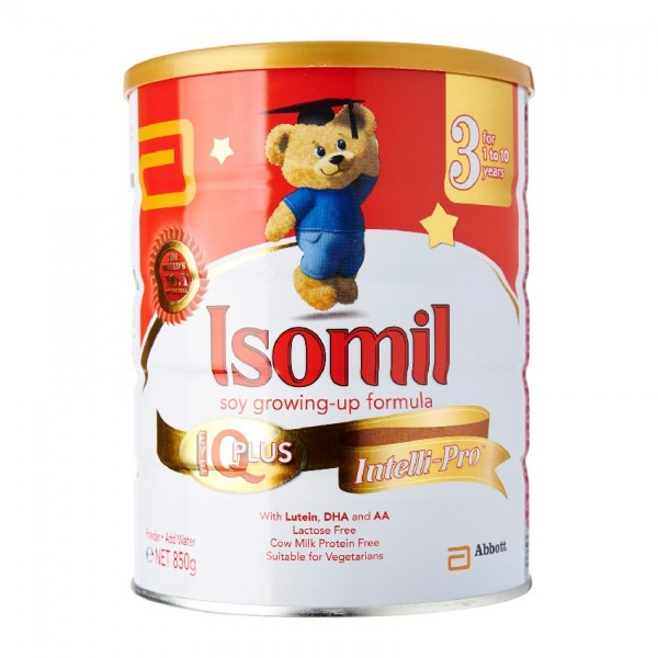 ISOMIL PLUS 1-10 YEARS 400G NEW