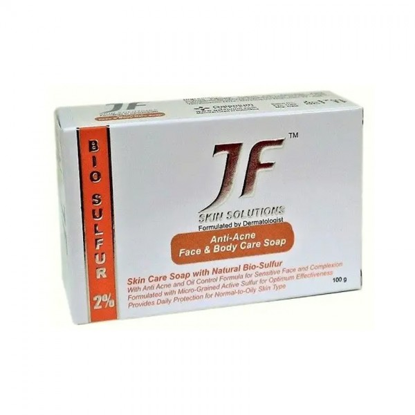 Jf Sulfur 2% Anti-Acne Face & Body Soap 100G