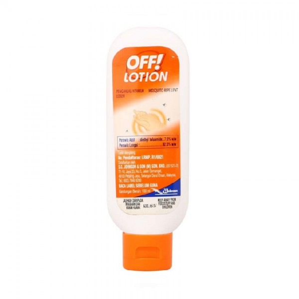 Johnson OFF Lotion Mosquito Repellent 100ml