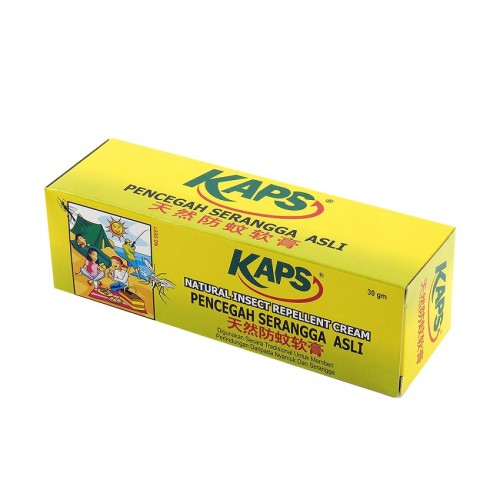 KAPS NATURAL INSECT REPELLENT CREAM 30GM