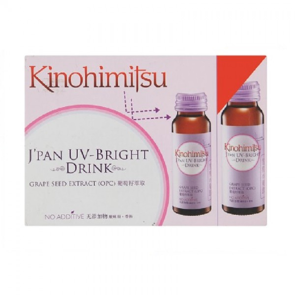 Kinohimitsu UV-Bright Drink (50ml x 6)