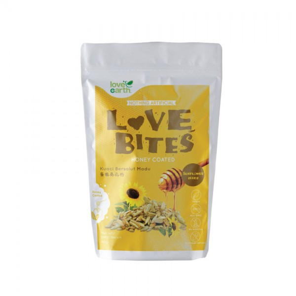 Love Earth Love Bites Honey Sunflower 40G