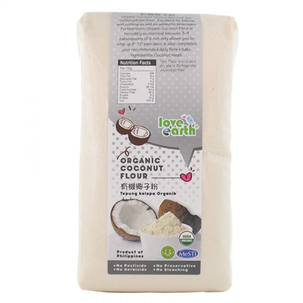 Love Earth Org Coconut Flour 900G