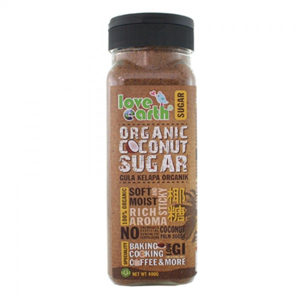 Love Earth Org Coconut Sugar 400G