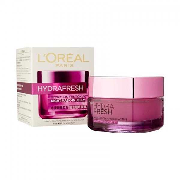 L'Oreal Hydra Fresh Hydration+ Antiox Active Supreme Emulsion (50ml)
