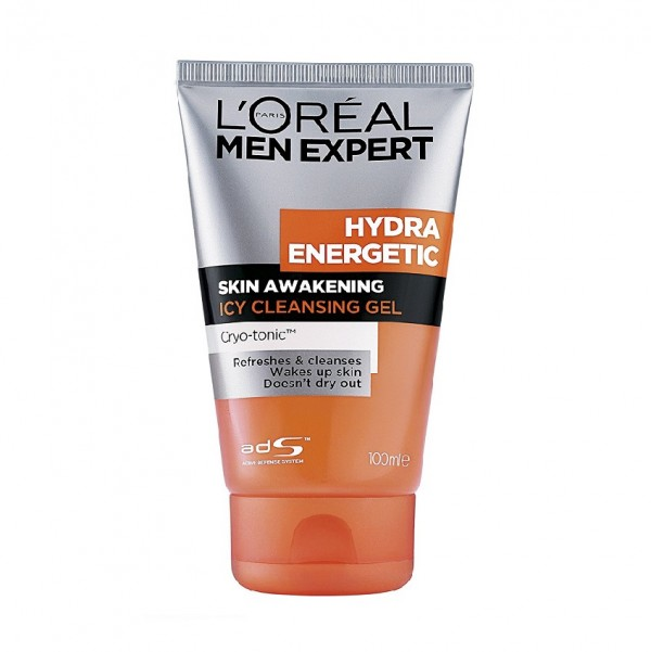 L'Oreal Men Expert Facial Cleanser Hydra Energetic Gel (100ml)