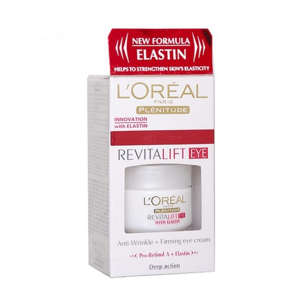 L'Oreal Revitalift Eye with Elastin Eye Cream (15ml)