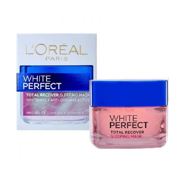 L'Oreal Paris White Perfect Total Recover Sleeping Mask (50ml)