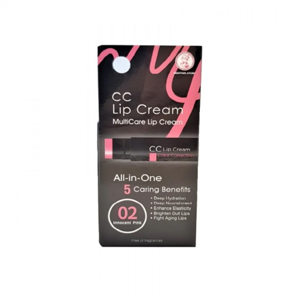MENTHOLATUM CC LIP CREAM - INNOCENT PINK 35G