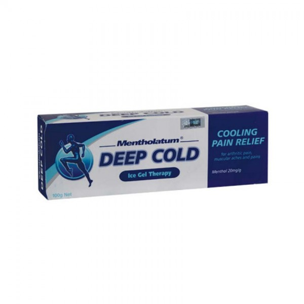 MENTHOLATUM DEEP COLD ICE GEL PAIN RELIEF 100G